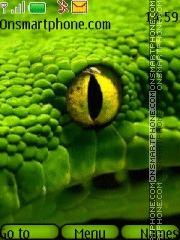 Green Snake 04 theme screenshot