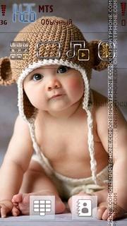 Cute Baby 02 theme screenshot
