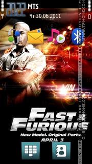 Fast Furious 05 theme screenshot