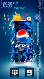 Pepsi Live 01 theme screenshot