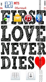 Love Never Dies 02 es el tema de pantalla