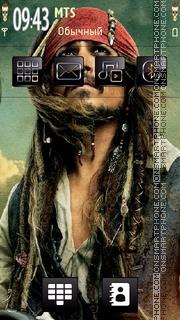Pirates Caribbean tema screenshot