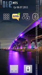 Скриншот темы City At Night