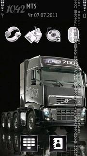 Скриншот темы Truck 03