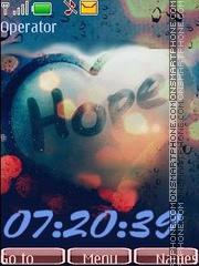 Hope swf theme screenshot