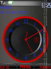 Color Clock By ROMB39 theme screenshot