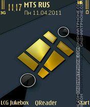 Decandent theme screenshot