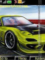 Mazda RX 7 tema screenshot