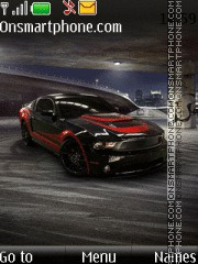 Ford Mustang GT 501 theme screenshot