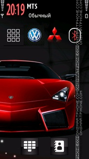 Lamborghini and Car Logos theme screenshot