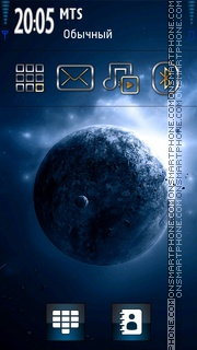 3d Space theme screenshot