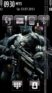 Crysis 03 theme screenshot