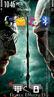Harry Potter 09 es el tema de pantalla