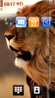 Lion 30 Theme-Screenshot
