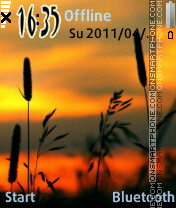 NiceSunset v2 theme screenshot