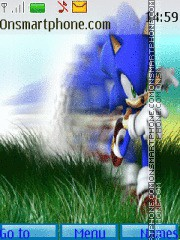 Sonic theme screenshot