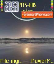 North South Poles theme screenshot