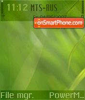 Green Lite theme screenshot