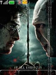Harry Potter 8 tema screenshot