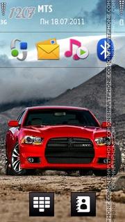Dodge charger str theme screenshot