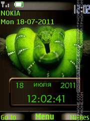 Beauty Snake By ROMB39 theme screenshot