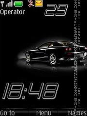 Ferrari swf theme screenshot