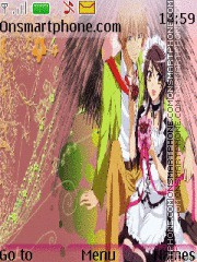 Maid Sama theme screenshot