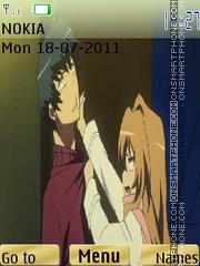 Toradora theme screenshot