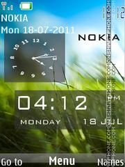 Nokia C7 Original es el tema de pantalla