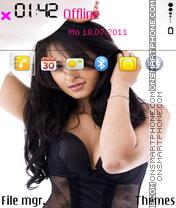 Capture d'écran Anushka Shetty 01 thème