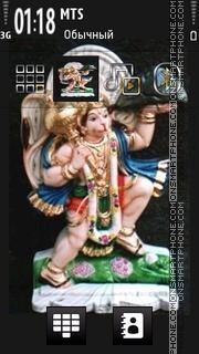Hanuman - Hindu es el tema de pantalla