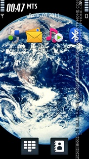 Blue Planet 03 theme screenshot