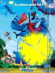 Скриншот темы Rio Clock 01