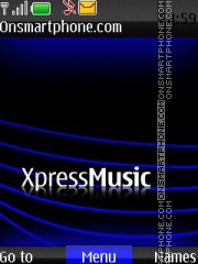 Xpress Muzik 02 theme screenshot