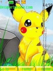 Pikachu 02 theme screenshot