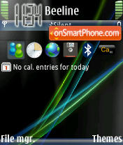 Ultimatus Vista theme screenshot