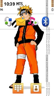 Скриншот темы Naruto Shippuuden 02