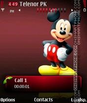 Скриншот темы Red Micky