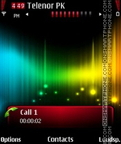 Rainbow theme screenshot