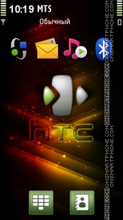 Htc Designs theme screenshot