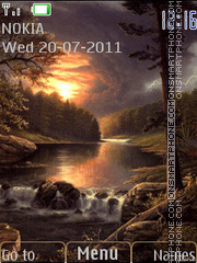Nature theme screenshot