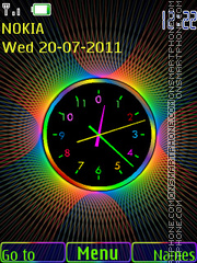 Clock tema screenshot