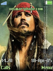 Pirates of Caribbean tema screenshot