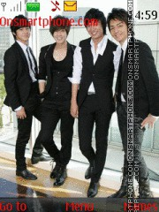 Скриншот темы F4 Prince - Boys Over Flowers