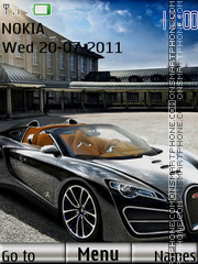 Bugatti With Tone 01 tema screenshot
