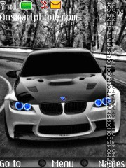 Bmw Blue Lights theme screenshot