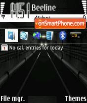 Dark Train theme screenshot