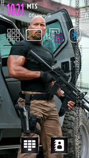 Dwayne Johnson 01 tema screenshot