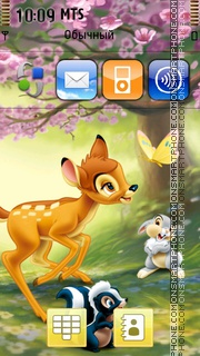 Bambi 03 theme screenshot