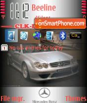 Clk Dtm Cabrio es el tema de pantalla